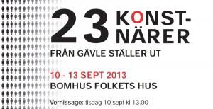 23 konstnärer från Gävle ställer ut